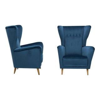 Pair of Italian Armchairs Attributed to Ico and Luisa Parisi, circa 1955