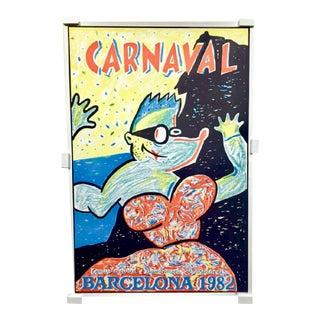 1982 Barcelona Carnival Print