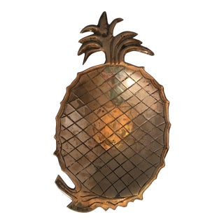 Brass Pineapple Catchall Tray