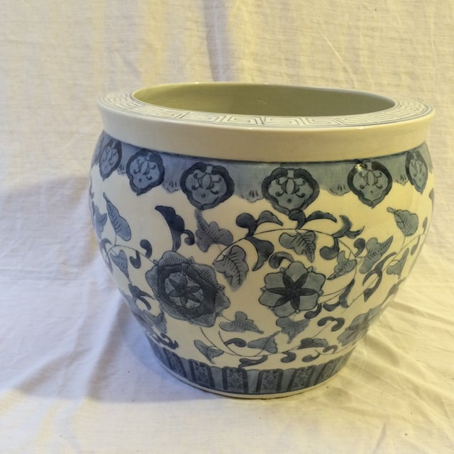 Vintage Chinoiserie Cachepot - Image 2 of 6