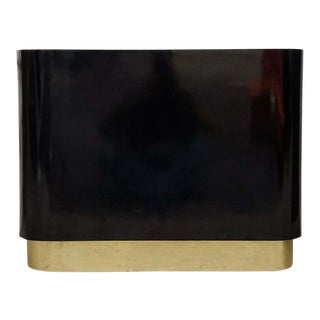 Vintage Black and Gold Console