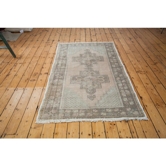 "Distressed Oushak Rug - 4'4"" x 8'2"" - Image 6 of 6"