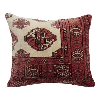 Turkoman Rug Pillow Cover