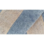 Image of French Blue & Gray Grain Sack