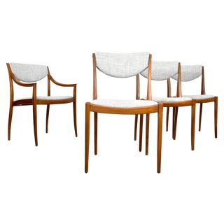 Mid Century Modern Drexel Dining Chairs - Set of 4