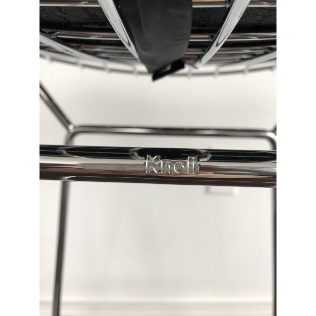 Bertoia Counter Stools With Seat Pads - Set of 3 - Image 4 of 11