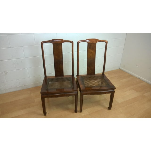 Image of Vintage Henredon Dining Chairs - Pair