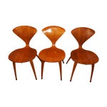 Image of Norman Cherner for Plycraft Ant Chairs - Set of 3