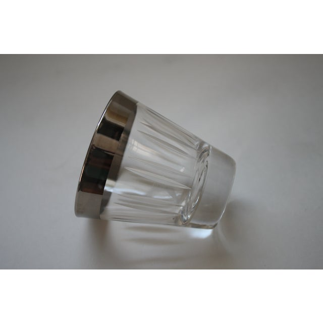 Silver Rimmed Shot Glasses - Set of 8 - Image 5 of 5