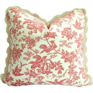 Ultimate Closet Girly-Girl Luscious Pink Pillow