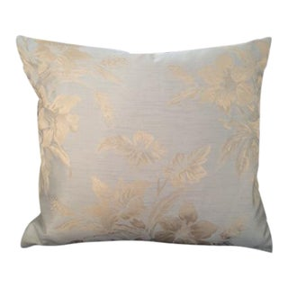 Traditional English Silk Sofa Pillow