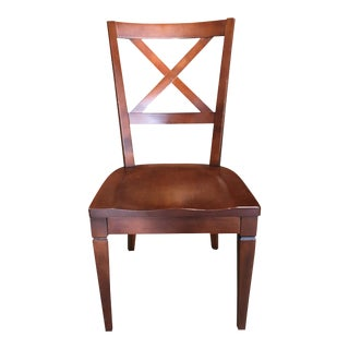 Ethan Allen Wooden Side Chair