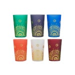 Image of Moroccan Tea Glasses - Set of 6