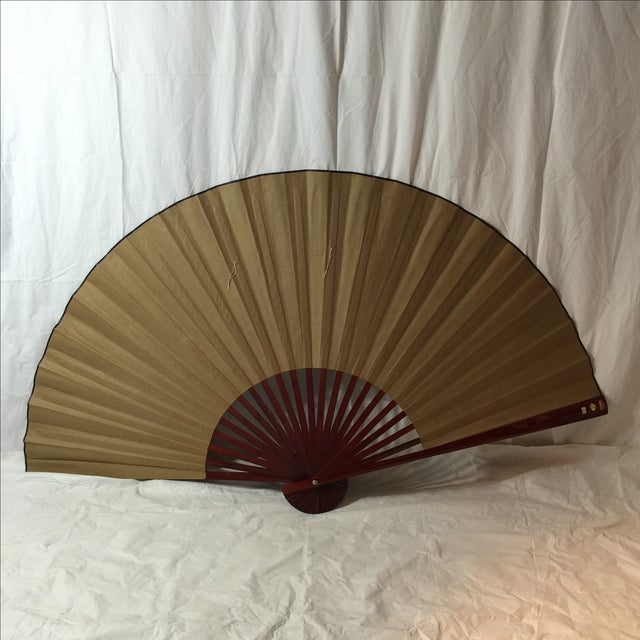 Decorative Chinese Dragon Fan - Image 7 of 8