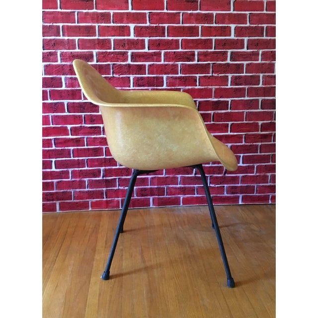 Image of 1950's Herman Miller Eames Molded Fiberglass Chairs - A Pair