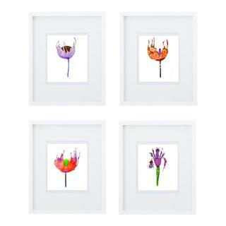 Botanical Groupings Prints - Set of 4