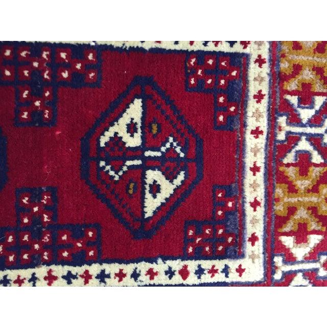 Turkaman Handmade Persian Rug - 1′8″ × 2′11″ - Image 7 of 11