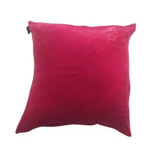 ABC Home by Avila Stanoff Hot Pink Velvet Pillow