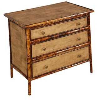 JW Custom Line Tiger Bamboo Chest of Drawers