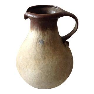 Fat Lava Pitcher Floor Vase