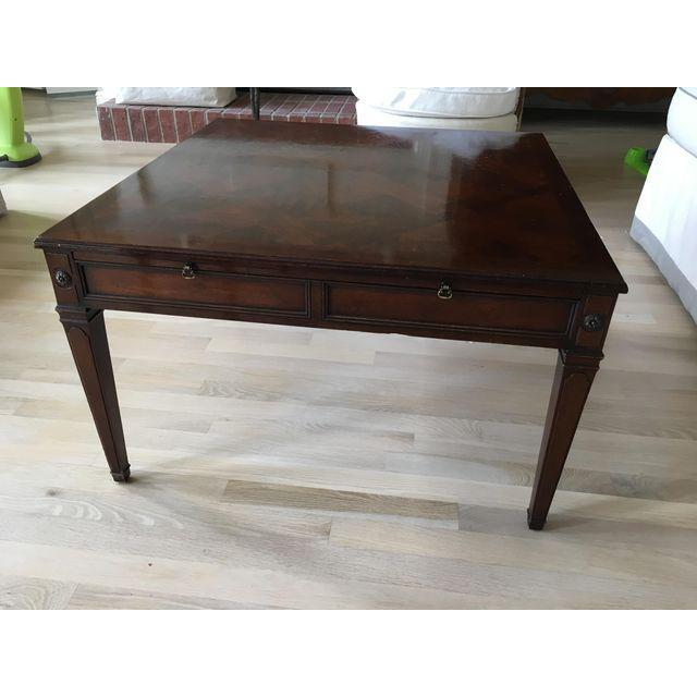 Vintage baker coffee table chairish Baker coffee table