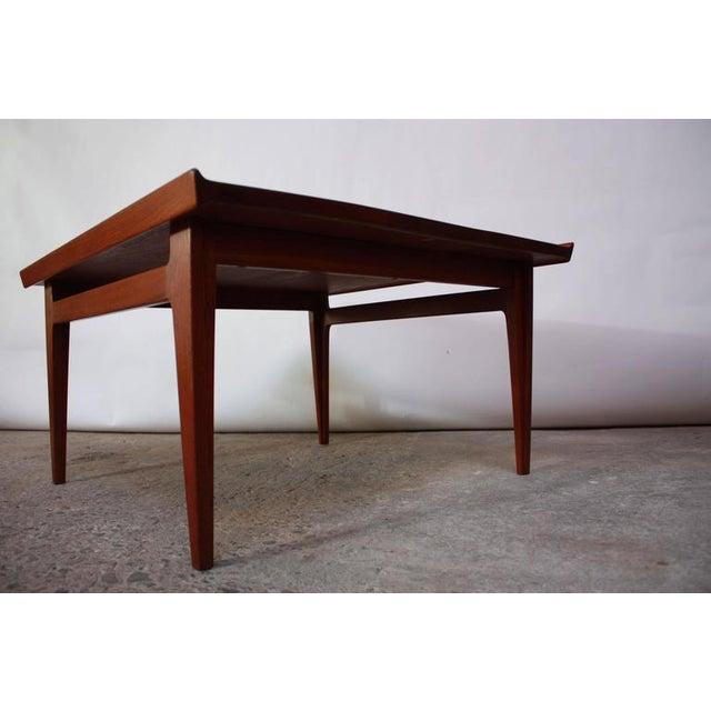 Early Finn Juhl for France and Daverkosen Teak Coffee Table - Image 8 of 10