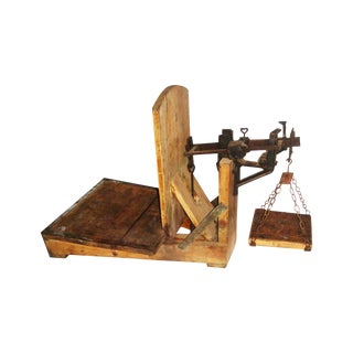 19th Century Swedish Weighing Scale