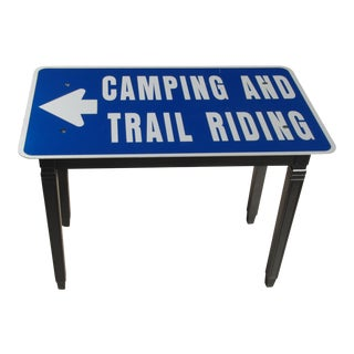 Industrial Camping Riding Side Table