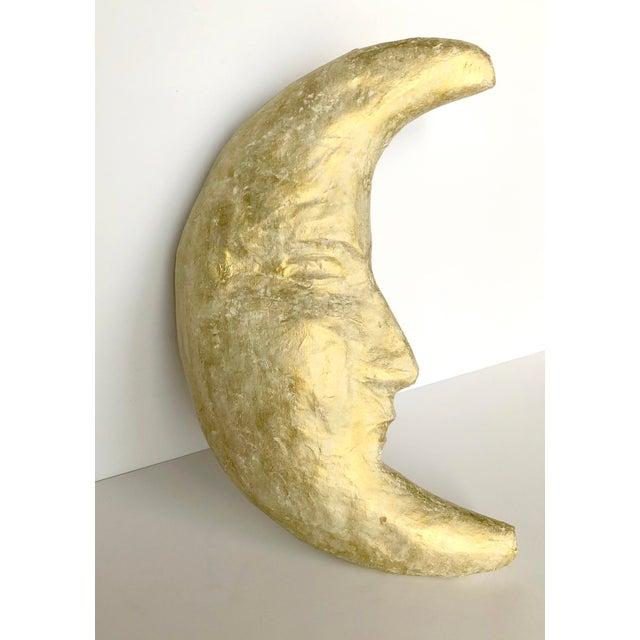 Handmade Papier-mâché Moon - Image 5 of 5