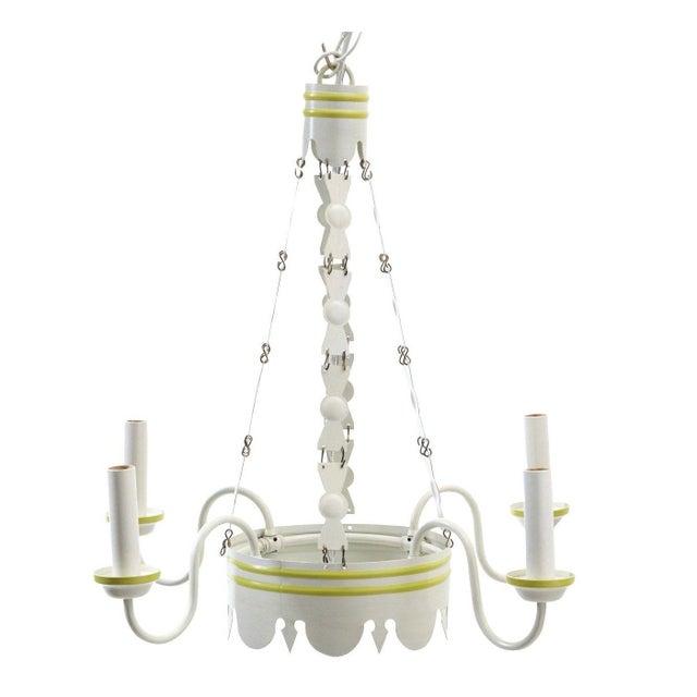 Lamplight Designs LeanderTole Chandelier - Image 1 of 3
