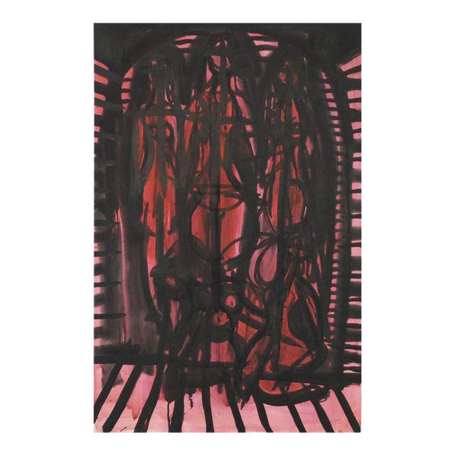 1952 Abstract Figurative Painting by Robert Gilberg - Image 1 of 4