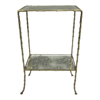 Pair of French Side Tables by Maison Bagues