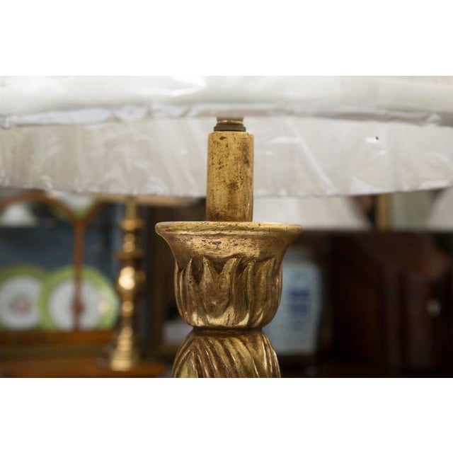 Image of Giltwood Deco Style Table Lamp