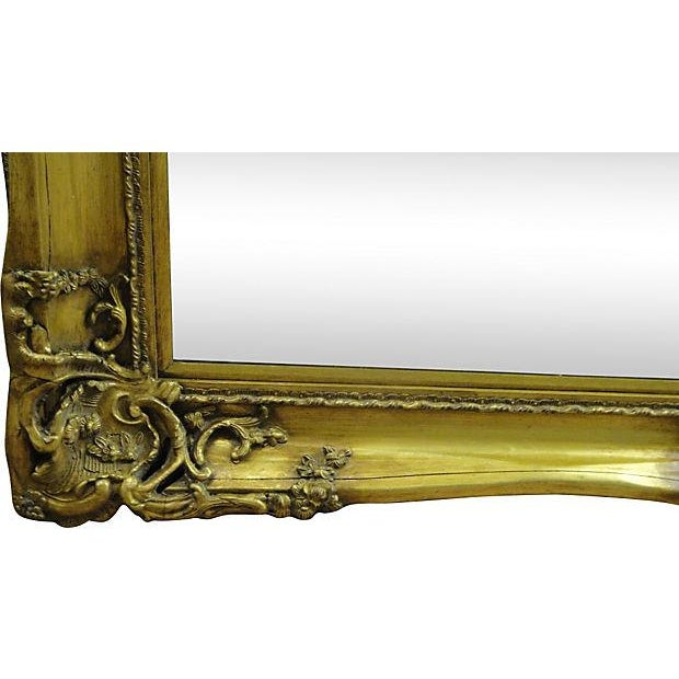 Gilt Solid Oak Mirror - Image 4 of 7