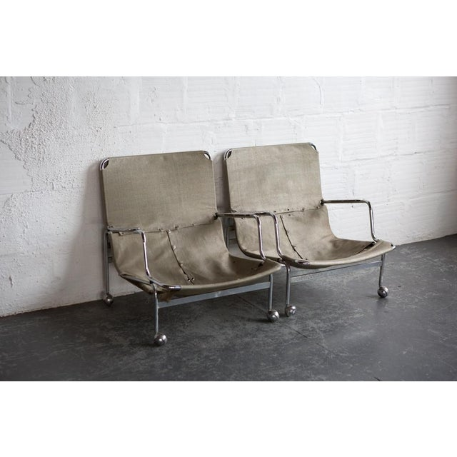 Bruno Mathsson 1960s Karin Rolling Chairs - A Pair - Image 3 of 7