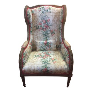Antique French Wingback chair