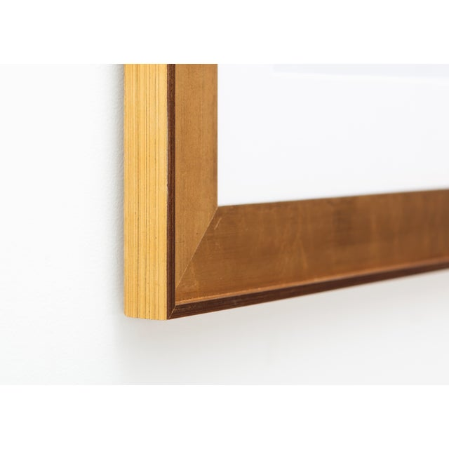 Image of Zoe Bios Creative, Classic Brights - Jade Shelf Abstract Framed Print
