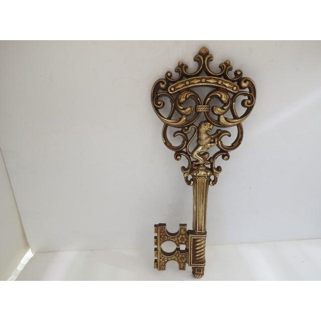 Gold Skeleton Key Wall Hanging - Image 4 of 6