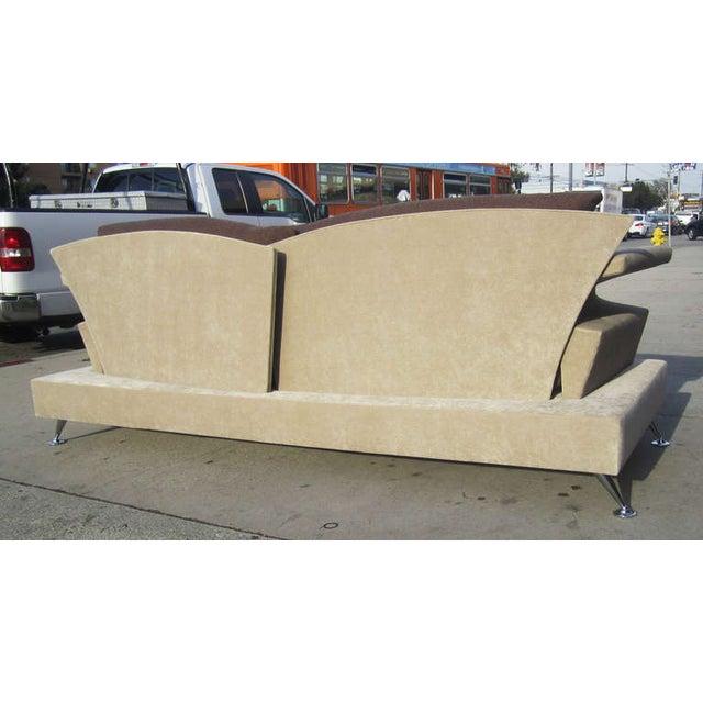 Sculptural Memphis Style Sofa by B&B Italia - Image 5 of 7