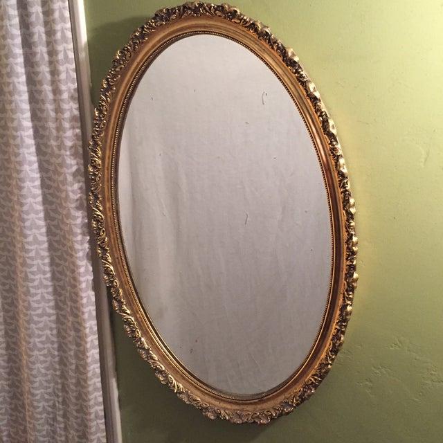 Hollywood Regency Gilt Mirror - Image 2 of 3