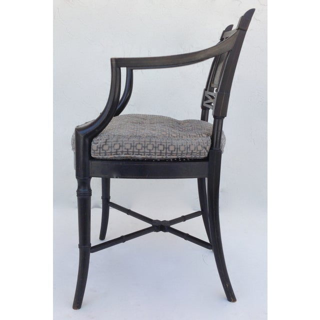 Maison Jansen Hand-Painted Regency Chair - Image 6 of 11