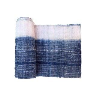 Indigo Batik Fabric Textile - 5.3 Yards