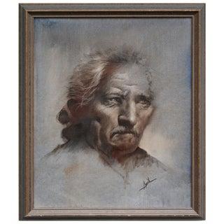 Original Framed Portrait of a Man