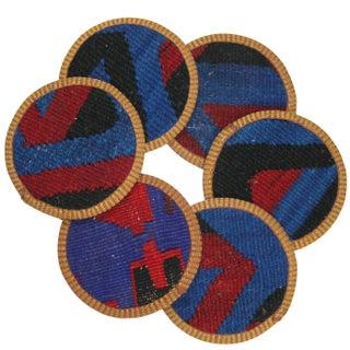 Kilim Coasters - set of 6