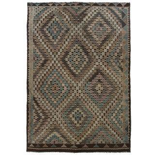 Vintage Turkish Kilim | 6'9 x 10' Flatweave