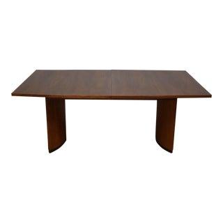 Milo Baughman Walnut Dining Table