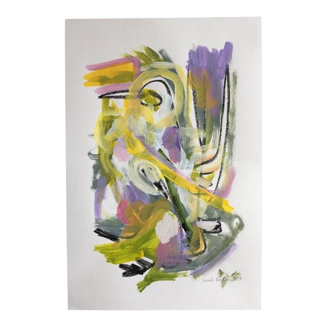 "Jessalin Beutler ""No. 86"" Acrylic Painting - Image 1 of 6"