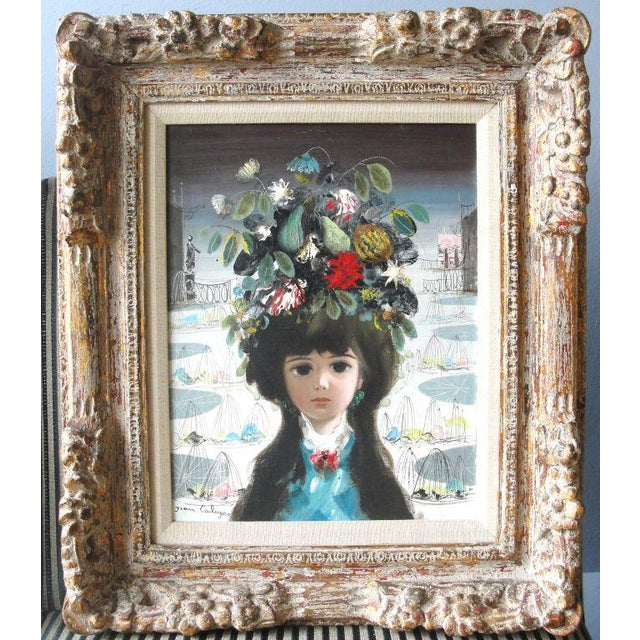 """Jean Calogero Oil Painting """"Patrizia"""" (signed) - Image 7 of 8"""