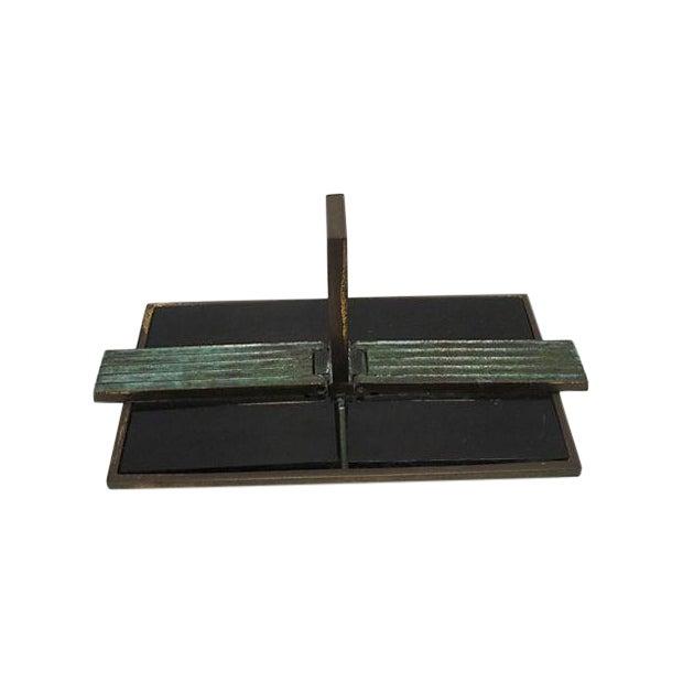 Art Deco Bronze Catchall - Image 1 of 8
