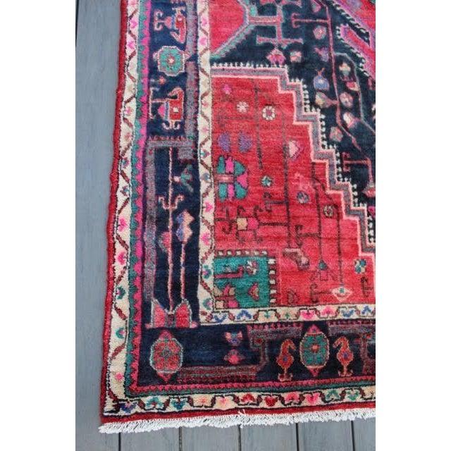 """Image of Semi-Antique Persian Touserkan Rug - 5' x 9'11"""""""